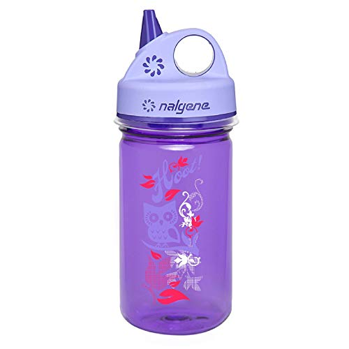 Nalgene Unisex's Kunststoffflaschen 'Everyday' Grip-n-Gulp Water Bottle, Purple, 12-ounce from Nalgene