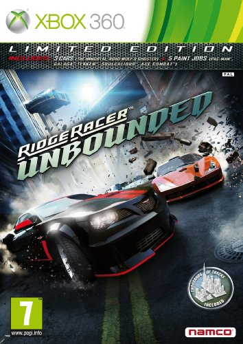 Ridge Racer Unbounded - Limited Edition (Xbox 360) from Namco Bandai