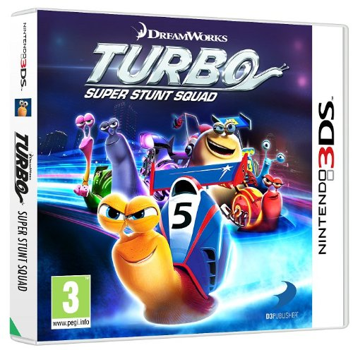 Turbo Super Stunt Squad (Nintendo 3DS) from Namco