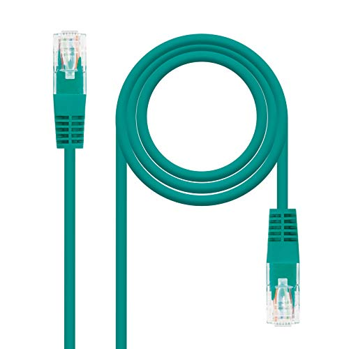 NANOCABLE 10.20.0400 - RJ45 Cat.6 UTP AWG24 Network Connecting Cable green from NANOCABLE
