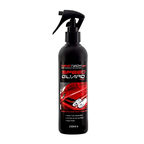 Speed Guard Nano Coating Technology Spray, Replaces Car Wax, Works With Polish,  With Instant Paint Protection Seal, Great For Cleaning Reduces The Need To Shampoo, Wash, Works Like Ceramic Products from NanotechSST