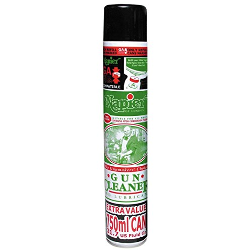 Napier Gun Cleaner and Lubricant Aerosol Spray Can with VP90 (750ml) from Napier