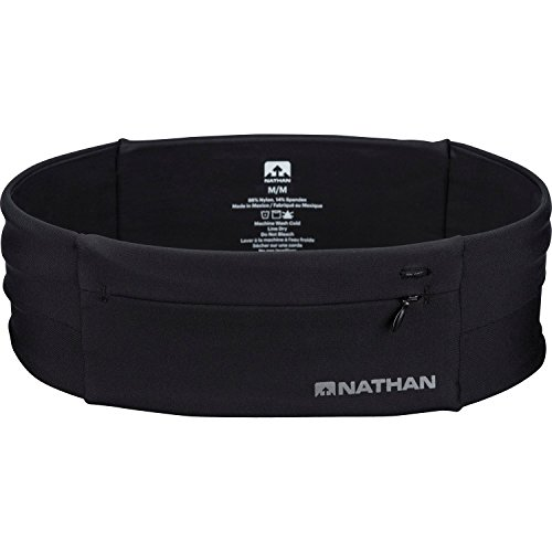 Nathan Unisex's The Zipster Waistpack, Black, X-Small from Nathan