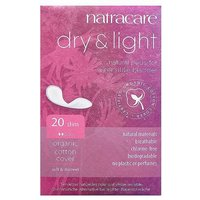 Natracare Dry & Light Sensitive Bladder Slim Pads-20 from Natracare