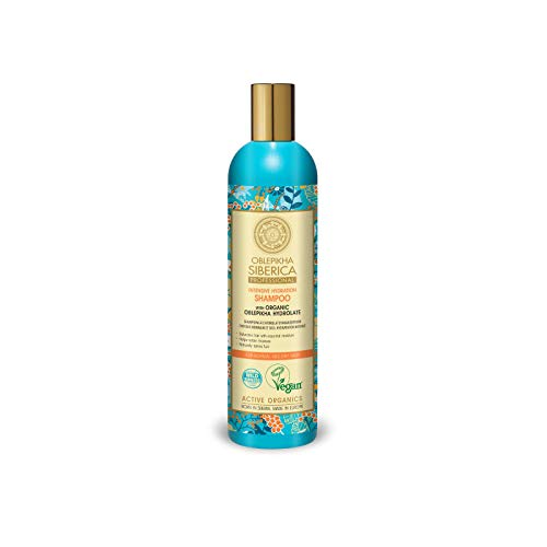 Natura Siberica Professional Oblepikha Intensive Hydration Shampoo for Normal and Dry Hair with Organic Oblepikha Hydrolate, 400 ml from Natura Siberica