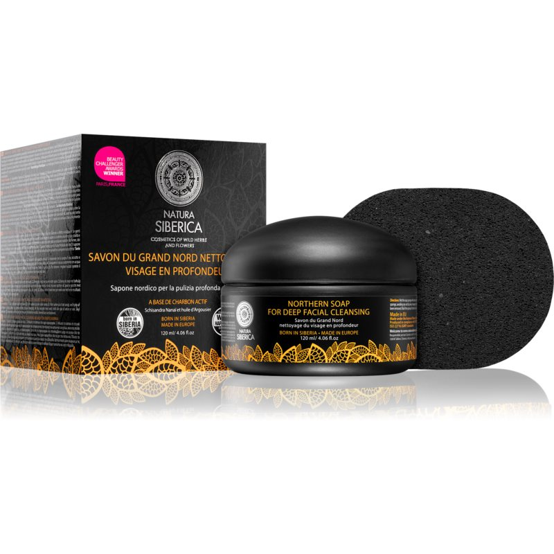 Natura Siberica Wild Herbs and Flowers Detoxifying Facial Soap For Deep Cleansing 120 ml from Natura Siberica