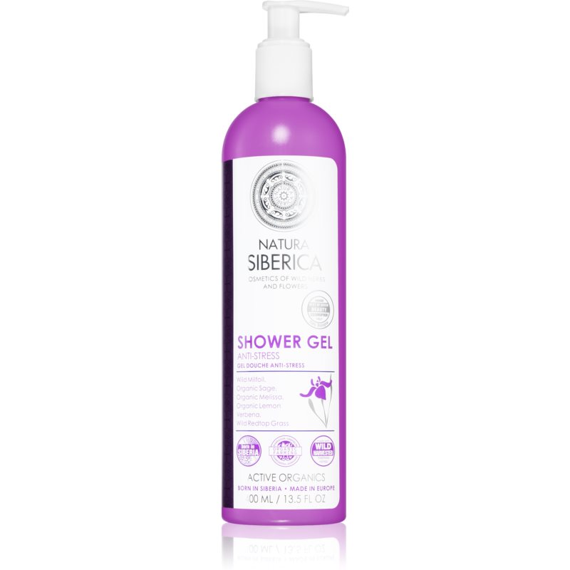 Natura Siberica Wild Herbs and Flowers Stress Relief Shower Gel with Firming Effect 400 ml from Natura Siberica