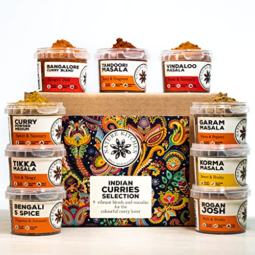 Curry Blends and SEASONINGS Selection from Nature Kitchen