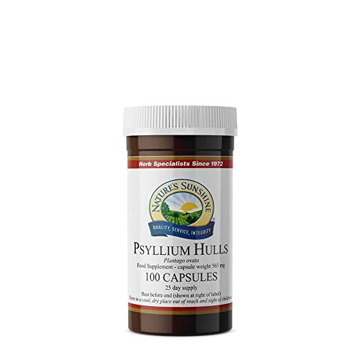 Psyllium Hulls (100) from Nature's Sunshine