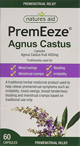 (Pack Of 2) PremEeze Agnus Castus 400mg | NATURES AID HEALTH PRODUCTS from Natures Aid