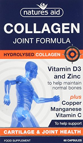 Natures Aid Collagen Joint Formula Capsules from Natures Aid