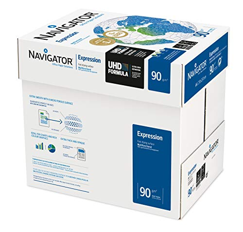 Navigator 210 x 297 mm A4 90gsm Expression Copier Paper - White (Pack of 2500 Sheets) from Blake