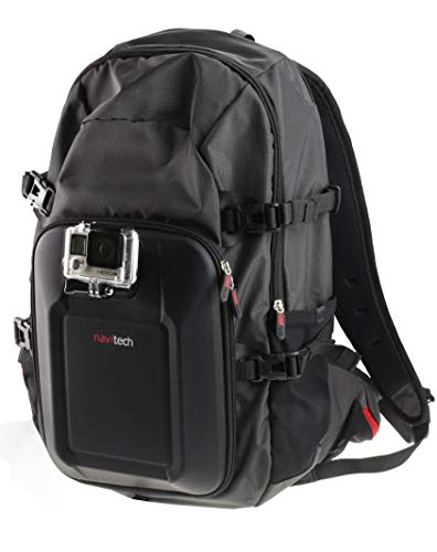 Navitech Action Camera Backpack With Integrated Chest Strap Compatible With The MGCOOL Explorer 3 | MGCOOL Explorer 2 | CMEDION LIFE S89038 (MD 87156) | Mbylxk Action Camera from Navitech