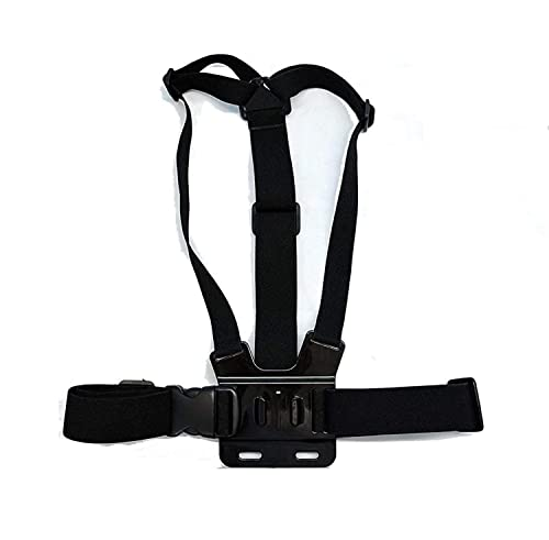 Navitech Adjustable Elastic Body Chest Strap Mount Belt Harness Compatible With The Kitvision Escape 4KW from Navitech