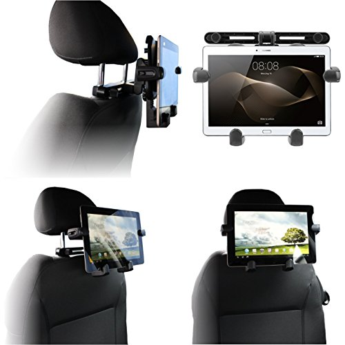 Navitech In Car Portable Tablet Head Rest/Headrest Mount/Holder Compatible With The Acer Iconia One 10 Tablet B3-A40FHD from Navitech
