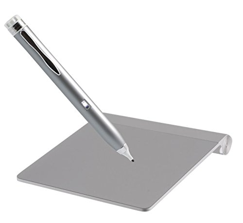 Navitech Silver Pro Works Active Stylus Pen Compatible With Apple Magic Trackpad from Navitech