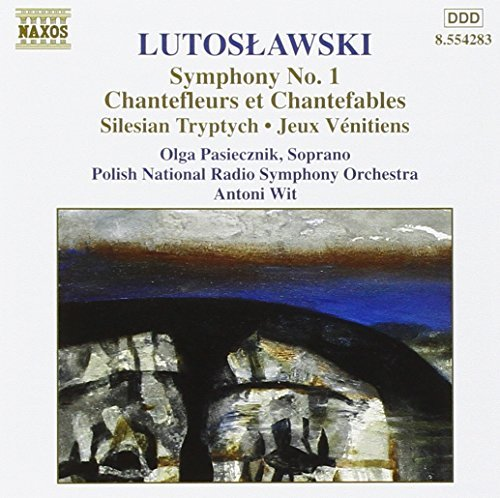 Lutoslawski: Symphony No. 1 / Chantefleurs et Chantefables / Silesian Triptych / Jeau V??nitiens by Polish National Radio Symphony Orchestra (1999-02-05) from Naxos