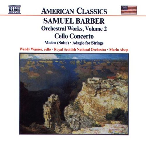 Samuel Barber: Orchestral Works, Vol.2 (2001-08-02) from Naxos
