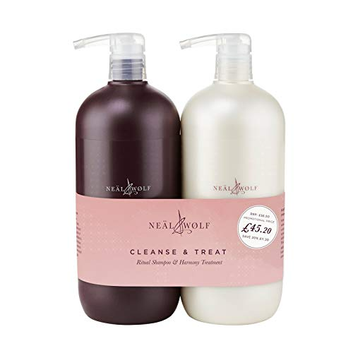 Neal & Wolf Cleanse & Treat Shampoo & Conditioner Duo 950ml from Neal & Wolf