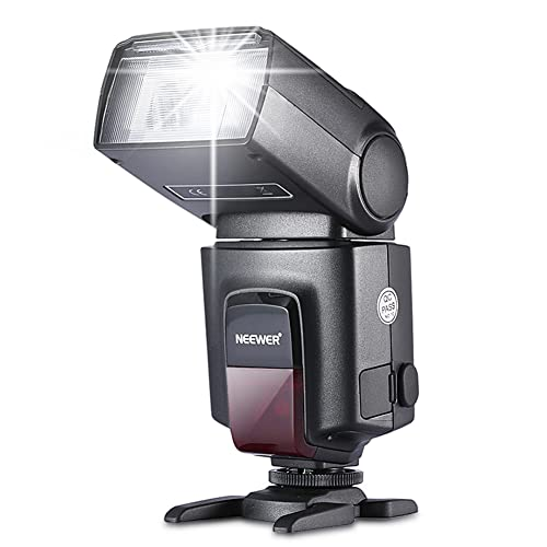Neewer® TT560 Flash Speedlite for Canon Nikon Sony Panasonic Olympus Fujifilm Pentax Sigma Minolta Leica and Other SLR Digital SLR Film SLR Cameras and Digital Cameras with single-contact Hot Shoe from Neewer