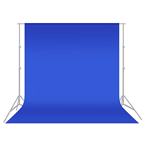 Neewer 3 x 3.6 m/10 x 12 ft Photo Studio Muslin Collapsible Backdrop Background - Blue from Neewer