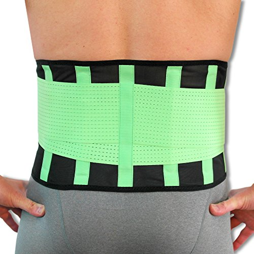 NeoPhysio Advanced Breathable Lower Back Support Belt, Great for Active People - XL from Neo Physio