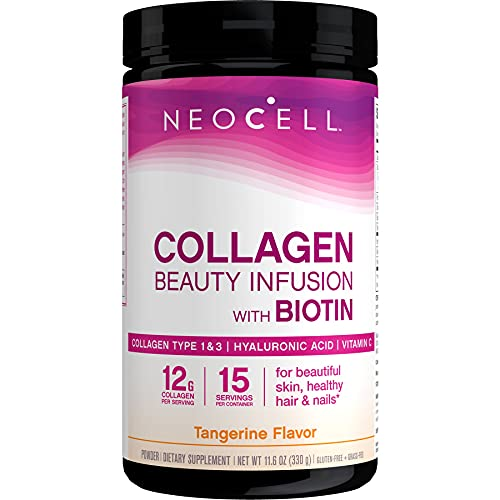 Neocell Beauty Infusion Refreshing Collagen Drink Mix Supplement, Tangerine Twist from Neocell