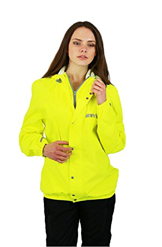 NERVE 10120405_08 Amazon Raincoat/ Jacket, Neon Yellow, 4XL from Nerve
