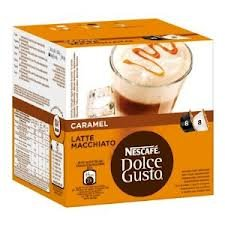 Nescafe Dolce Gusto Caramel Latte Macchiato x 4 packs (64 pods, 32 servings) from Nescafe