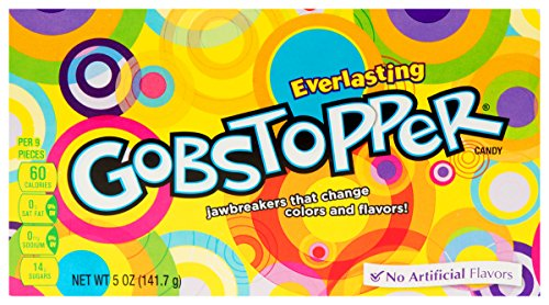 Wonka Everlasting Gobstoppers Theatre Size Box x2 from Nestlé