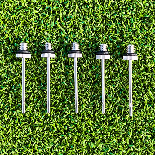 5-Pack of Football Pump Inflation Needle Valves – [Net World Sports] from Net World Sports