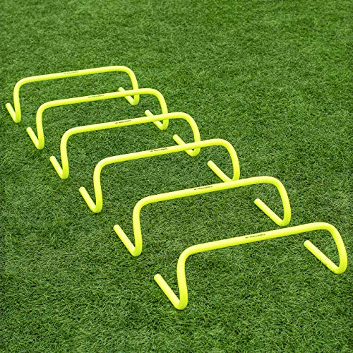 "FORZA Speed / Agility Training Hurdles [Pack of 6] - Choose Your Size! [Net World Sports] (6"" Hurdles) from Net World Sports"