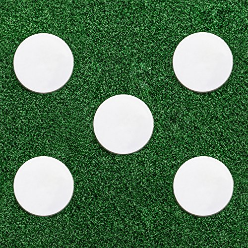 Bowlers Run Up Marker - Marking Disc For Cricket [5 Pack] - [Net World Sports] from Net World Sports