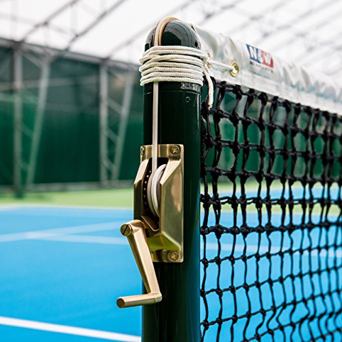Brass Tennis Post Winder Handle (Suitable For Square & Round Tennis Posts) [Net World Sports] (02. Winder 'Handle' - Round Tennis Posts) from Net World Sports