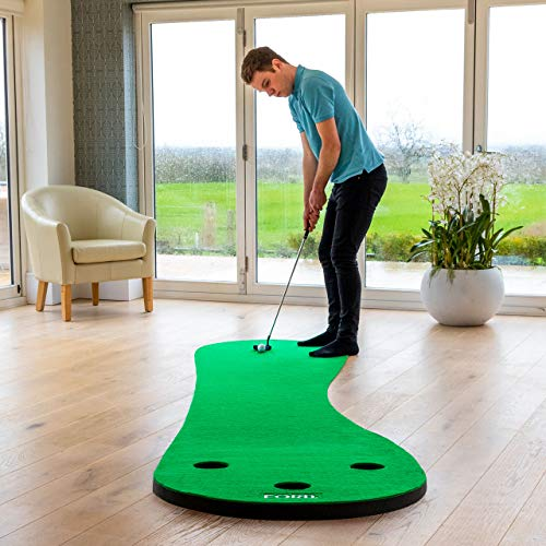 FORB Home Golf Putting Mat [10ft] - Roll Away Indoor Putting Mat from FORB