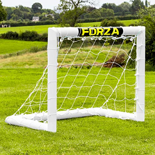 FORZA Kids Goal - 3ft x 2.5ft PVC Football Goal - Mini Target Goal (Goal Only) from FORZA