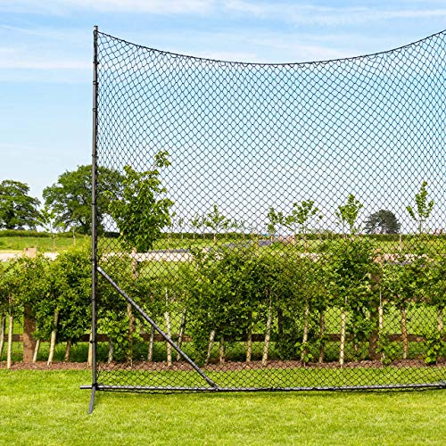 Net World Sports Stop That Ball™ Premium Quality Ball Stop Netting System (05. 50ft Wide) from Net World Sports