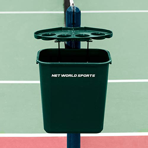 Tennis Court Bin & Shelf – the perfect court tidy for tennis clubs – [Net World Sports] from Net World Sports