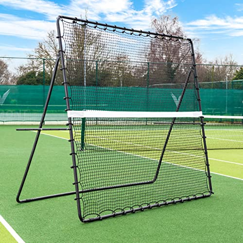 Tennis Jumbo Rebounder [9 x 7] | Freestanding Garden Rebound Net | For All Ages from Vermont