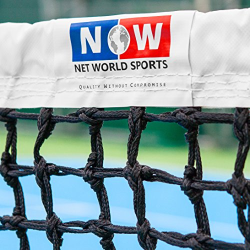 Tennis Net - 3.5mm DT Championship Grade - Standard or Wimbledon Class Headband [Net World Sports] (Standard Headband) from Net World Sports