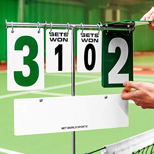 Tennis Post Scoreboard - Connects to Tennis Posts for Quick Score-Recording [Net World Sports] from Net World Sports
