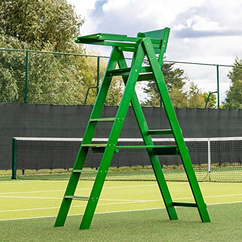 Traditional Wooden Tennis Umpires Chair – Professionally Designed For Tennis Clubs & Tournaments [Net World Sports] from Net World Sports