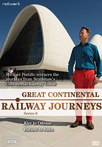 Great Continental Railway Journeys: Series 6 [DVD] from Network