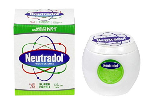 THREE PACKS of Neutradol Gel Odour Destroyer Super Fresh from Neutradol