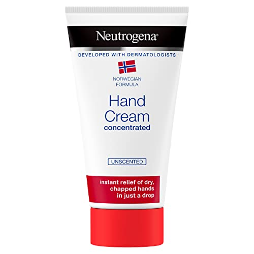Neutrogena Norwegian Formula Hand Cream Concentrated Unscented 75 ml Immediate and Lasting Relief, 300 Applications from Neutrogena