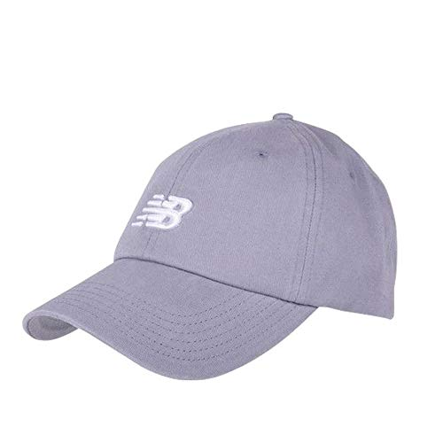 New Balance 6-Panel Curved Brim Classic Cap Steel from New Balance