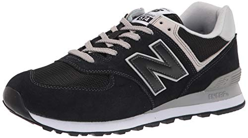New Balance Men's 574v2 Core Sneaker, Black (Black), 10 UK from New Balance