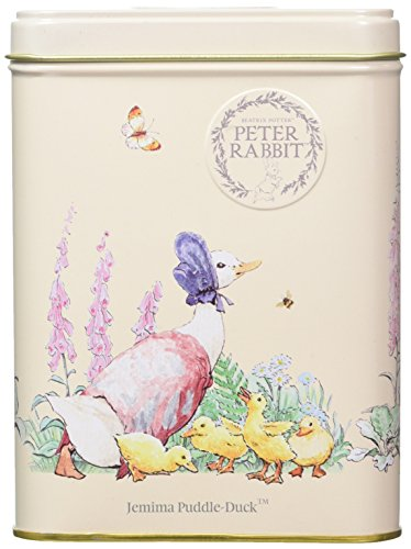 New English Teas Beatrix Potter Jemima Puddle-Duck Earl Grey Teabag Tin from New English Teas