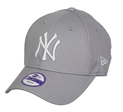 New Era 9Forty Stretched KIDS Cap - NY Yankees grey - Youth from New Era