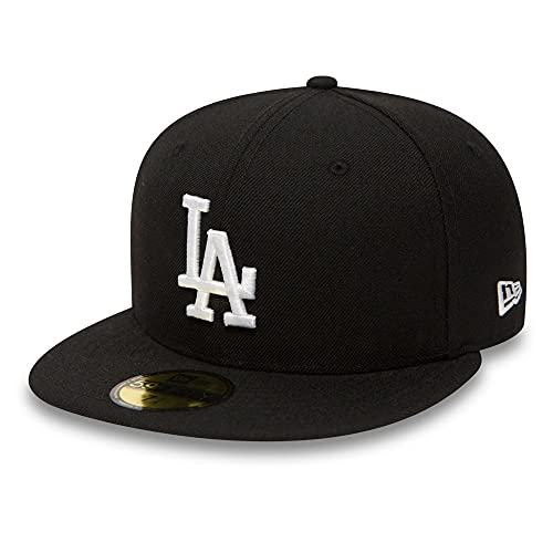 huge selection of 24abf 5d698 New Era Men s MLB Basic LA Dodgers 59Fifty Fitted Baseball Cap, Black (Black .  found at Amazon Marketplace